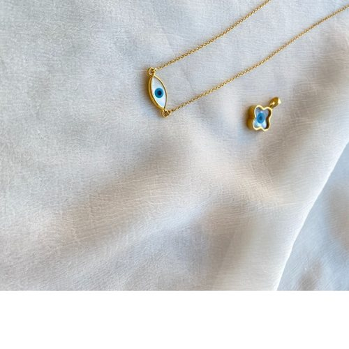 Marquise Evil Eye Necklace