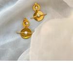 Riley Pearl Earrings