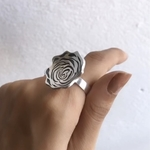 Rose Ring Adjustable Band