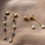 Panchratna Earrings