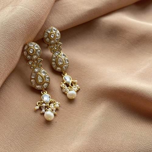 Adaa Polki Earrings