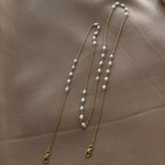 Multi-utility Pearl necklace