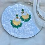 Noor Chandbali - Emeralds