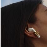 Hand Mudra Pod Earrings