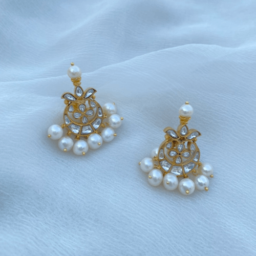 Chnadphool Polki Earrings