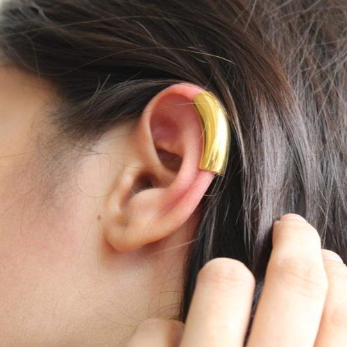 Flow Ear cuff- Gold
