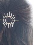 Evil Eye Hair Clip