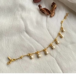 Pearl Bar Bracelet