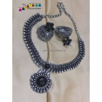 Beautiful Oxidized Necklace set!