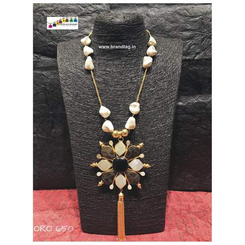 Dussehra Collection...Casual Contemporary Stones Ora Necklace!!