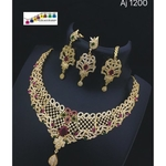 Sparkling Necklace set!! Teej Collection!!