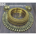 Beautifully Designed Brass Necklace set for women !