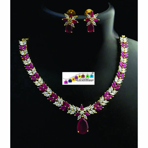 BrandTag's American Diamond's Necklace set !