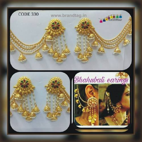 Bahubali Earrings!!