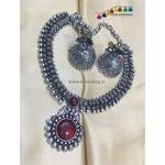 Beautiful Oxidised  Necklace set!