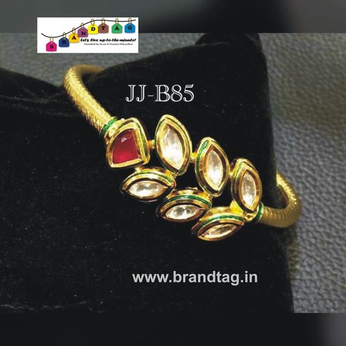 Special Raksha Bandhan collection!! Royal elegant  Kundan Kada bracelet..!!