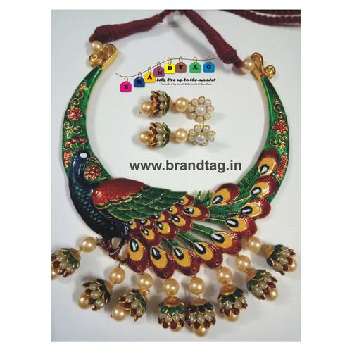Peacock Necklace Set!!