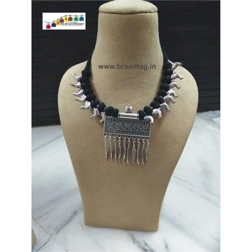 Oxidized Rajsthani Necklace set!