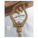 Magnificent Golden Long Necklace set!!