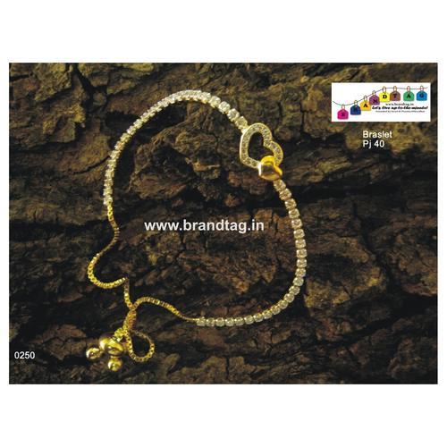 Elegant and Striking Bracelet studded with Diamonds!