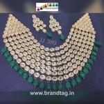 Royal elegant  Kundan  Necklace set...!!!