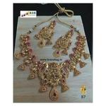 Exquisite Baahubali Divine Temple Necklace Set!!!