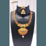 Diwali Collection - Ethnic Golden Necklace set!