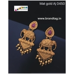 Special Ganesh Festival Collection ....Beautiful Baahubali Elephant Earrings!!