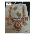 Striking Baahubali Long Necklace Set!!!