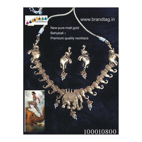 Exclusive Diwali Collection - Pure Copper Matt Finished Necklace set!