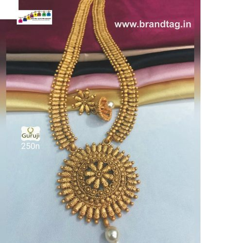 Royal Golden Chakriphul Necklace set!!