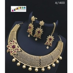 Eye pleasing Traditional Necklace Set!! Teej Collectiona!!