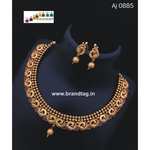 Special Ganesh Festival Collection ....Captivating simple yet beautifully designed Necklace set!!