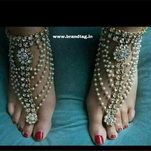 BrandTag's Ethnic yet Unique Feet Jewellery !