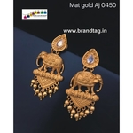 Special Ganesh Festival Collection..Beautiful Baahubali Elephant Earrings!!