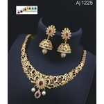 Traditional yet  fashionable necklace set!! Teej Collection!!