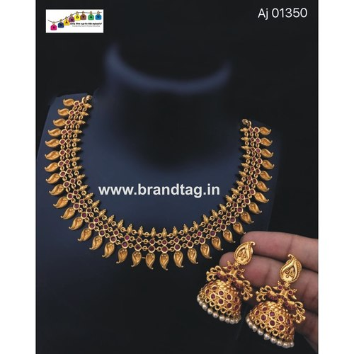 Marvellous Golden Koyeri Necklace set!!