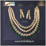 Royal elegant Kundan Necklace set...!!!