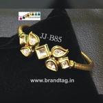 Special Raksha Bandhan collection!! Royal elegant Kundan Kada Bracelet..!