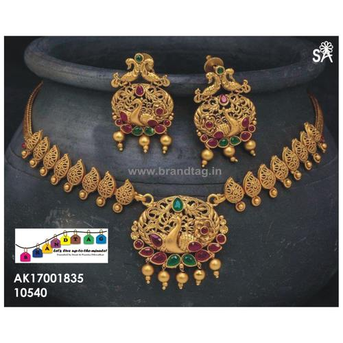 Traditional Royal Golden Necklace set!