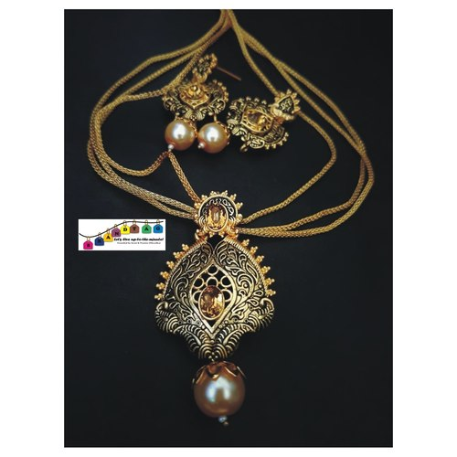 Golden Pendant Set!!