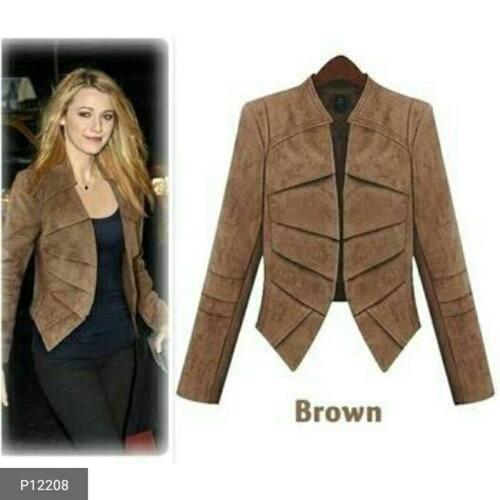 Cotton Velvet Jacket for Women!!