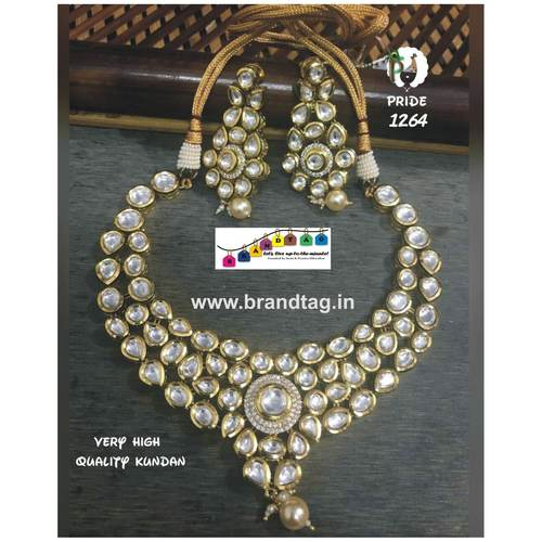 Exquisite Kundan Necklace Set!