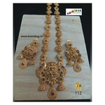 Uniquely Designed Baahubali Long Necklace Set!!!