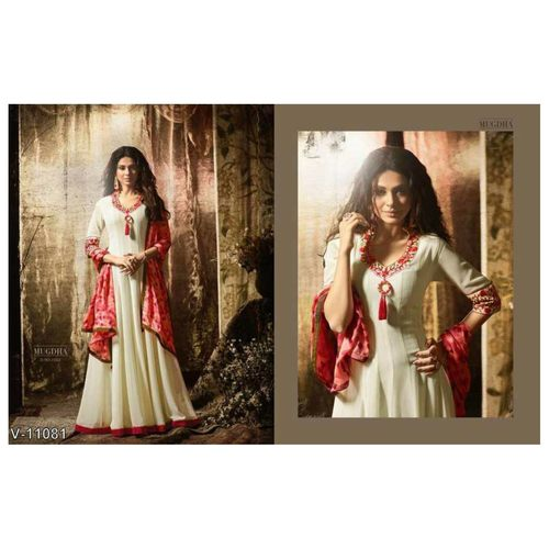 Pure Silk Semi Stitched Dresses for women
