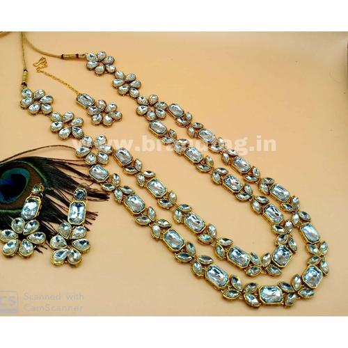 BrandTag's Two layered Vishnupriya Necklace set for women !
