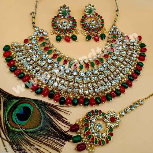BrandTag's Beautifully designed Madhurima Necklace set for women !