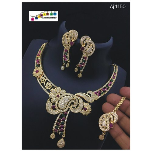 Beautiful Necklace set!! Teej Collection!!
