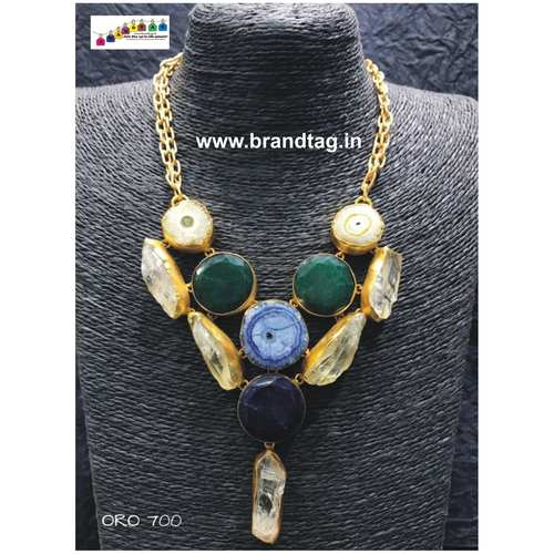 Valentine's Day Collection !! Attractive Stones Necklace !!