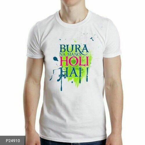 Men's Casual T-Shirts for Holi !